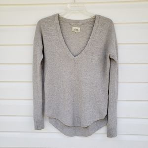 Wilfred Galois V  Sweater Grey XS Silk Cashmere